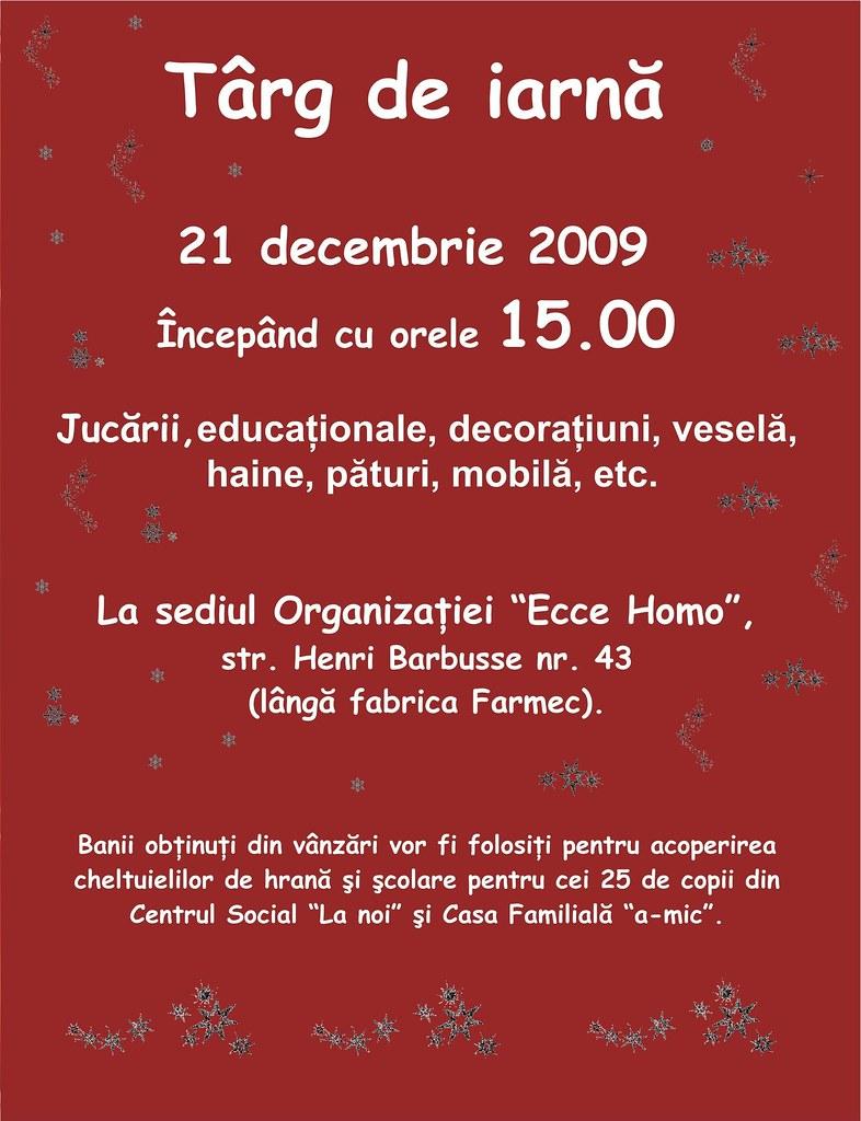 Targ de iarna la Ecce Homo 2009