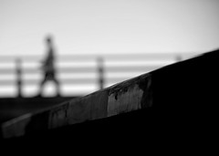 Detour (.I Travel East.) Tags: life silhouette walking hawaii nikon dof oahu walk monotone honolulu railing merrychristmas lucio detour happynewyear maligayangpasko toeveryone d700