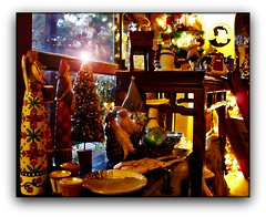 I REALLY LOVE THIS PHOTO (craftedfromtheheart) Tags: christmas trees photoshop vintage painting artist santas handmade sewing australia melbourne victoria snowmen fairylights mtdandenong cs3 heartwoodcreek merrychristmasandahappynewyear upwey averyflickrchristmas bottlebrushtrees thewitchesofeastwick holidayandspecialevents craftedfromtheheart clanflickr seasonsmagic ayearofholidays friendswhosupportfriends