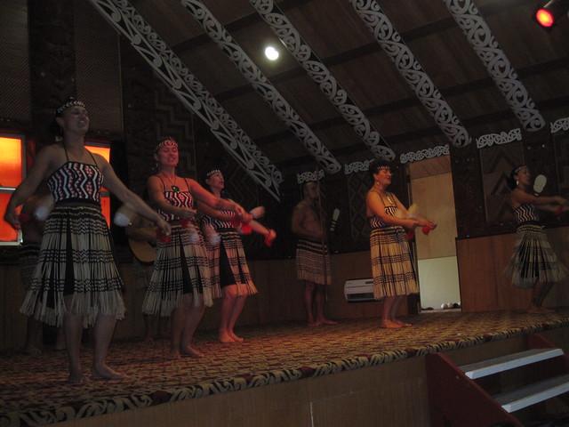 Rotorua 31 - Te Puia - Maori dance performance by Ben Beiske