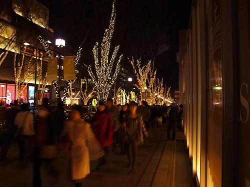20091225_表参道イルミネーション2