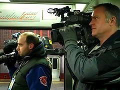 News cameras.