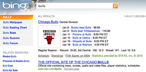 Bing Flashes Their Basketball Skills With NBA Results