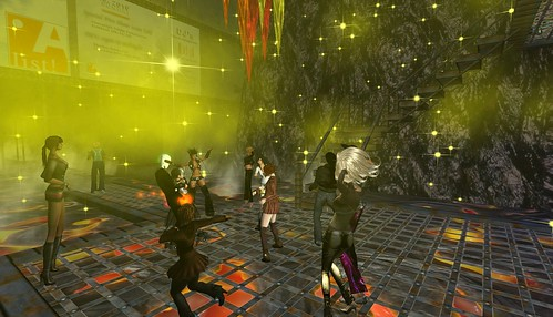 the a list! party in second life