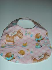 Babete de tecido (Ana Crafts2009) Tags: bibs