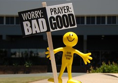 Worry or Prayer (Leonard John Matthews) Tags: fun message quote ministry prayer declaration protest australia smiley queensland bible worry 365 care redcliffe campaign anxiety witness godlovesyou mythoto newlivingtranslation worldwideopen 1peter57 3652010 365the2010edition moretonregionalcouncil