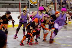 Dolls vs. Slashers (37) (cthomps1980) Tags: city party dolls slumber steel roller derby demons wrecking slashers