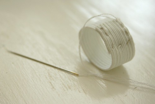 diy ring pincushion, step 5