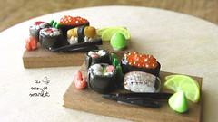 Sushi Bar Display- Collection One (1/12 scale)