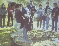 鸞山部落習慣透過分享的機制,和其他部族交流傳承經驗知識。