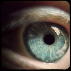 How I See The World (helle-belle) Tags: blue selfportrait macro eye texture me closeup vinter 2010 detaljer je project365 theworldthroughmyeyes 32365 twtmy fakettv featuredphotographer hellebelle 010210 february2010 canoneos5dmrkii project36612010 322010