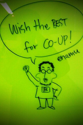 wish the best for CO-UP by enamu