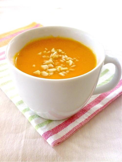 crema di zucca, arancia e zenzero