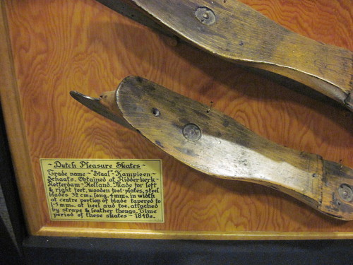 Dutch Skates on Display at Richmond City Hall