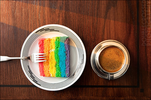 the visible spectrum, breakfast edition