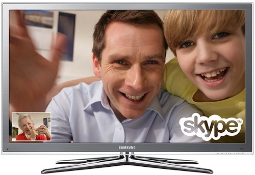 Samsung LED 7000 and 8000 series TVs get Skype