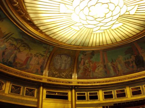 Theatre des Champs Elysees ceiling
