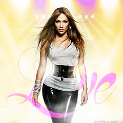 Jennifer Lopez - Love (COVERLANDIA) Tags: art love girl design is artwork album jennifer cover single what lopez jlo everybodys fanmade louboutins coverlandia