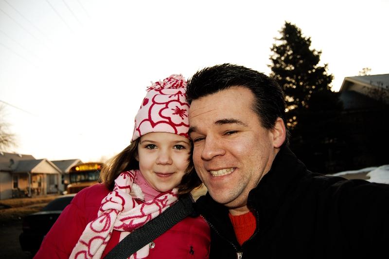 With Hannah