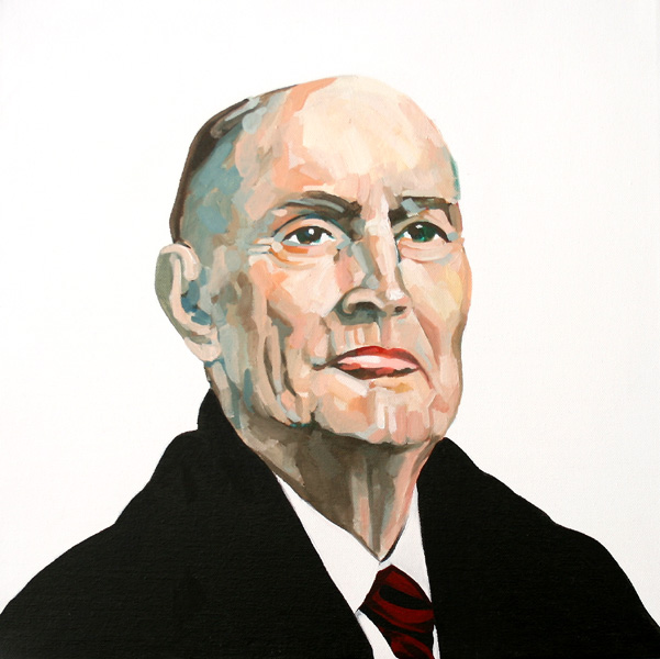 Mitterrand by Robin Clare