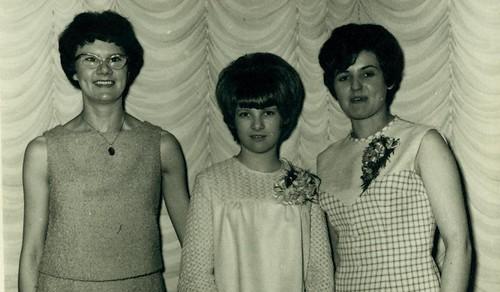 May McFadden, Marlene Watt  Jean Laurieston 1965