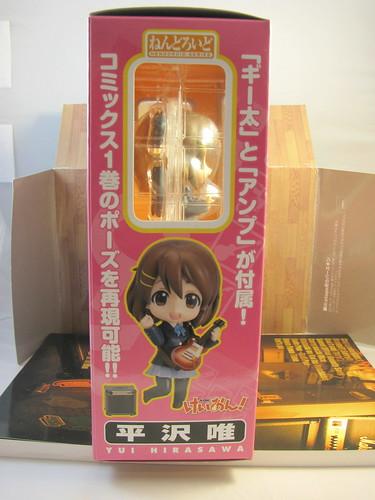 Nendoroid Yui box side
