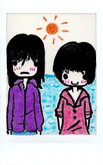 (Disorder Heaven) Tags: instant fujifilm draw dibujo expiredfilm fujifilminstax mini7s fujifilminstaxmini7s