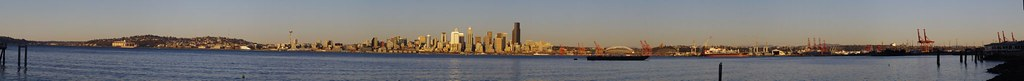 Seattle SunRise Panorama