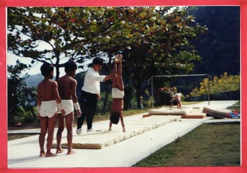 台坂體操隊的珍貴老照片