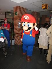 Mario en RetroMadrid