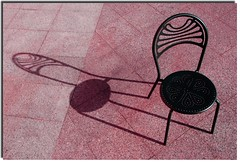 The shadow of the chair (Nespyxel) Tags: shadow chair ombra sedia nespyxel stefanoscarselli