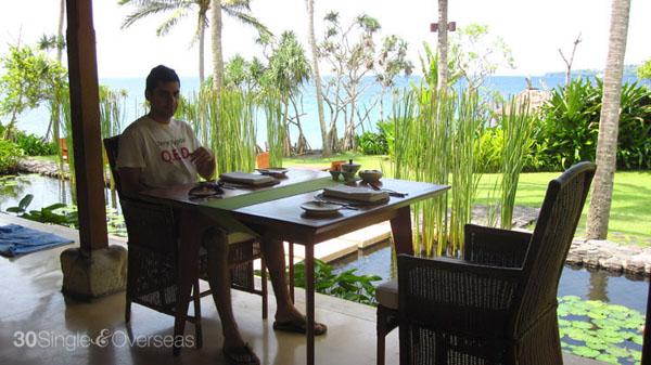 Breakfast at Alila Manggis, Bali