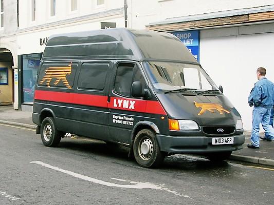 ford transit delivery vans van parcel courier lynx fordtransit
