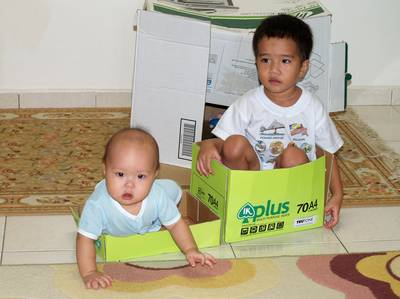 Fun with a box