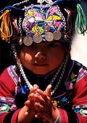 Enfant yunnan, Chine, China (Philippe Guy) (guy philippe) Tags: voyage china travel boy asia child asie yunnan tribe enfant chine tribu philippeguy