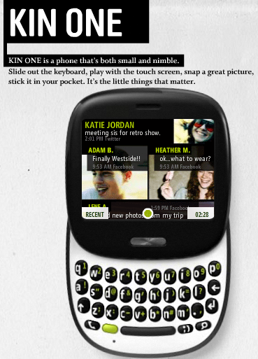 KIN.com - KIN ONE