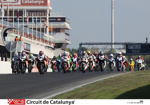 Salida CEV Circuito Catalunya 2009