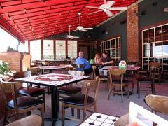 thisrty dog tavern - patio