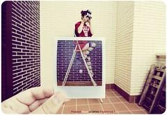 Polaroid Black or White Experience! (jmavedillo - NTF) Tags: white black blanco colors polaroid pentax negro experiment experience javier martinez terraza piso avedillo k200d jmavedillo cristequiero