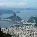 Sugar Loaf from Christo Redentor