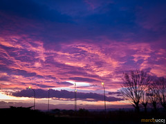 Just another sunset... (MarcoBucci) Tags: sunset italy canon italia tramonto viola bucci g11 marcobucci