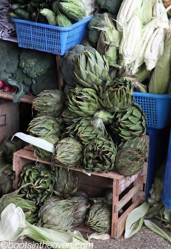 Extra spiny artichokes