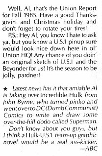Amazing Heroes 86 letter from Cousin Dick part 4