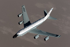 [Free Image] Vehicle, Aircraft, Surveillance Aircraft, RC-135 Rivet Joint, 201106302300