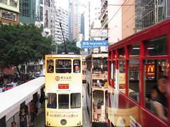 View from a Hong Kong ding ding (ashabot) Tags: street hongkong cities streetscenes
