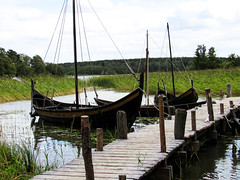 Viking Boats (creativelyslacking) Tags: boat viking sweden longboat longship