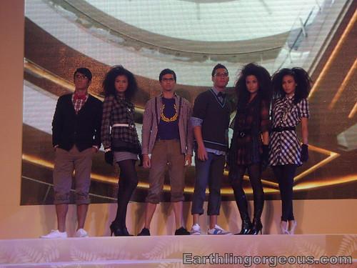 Mega Atrium fashion show