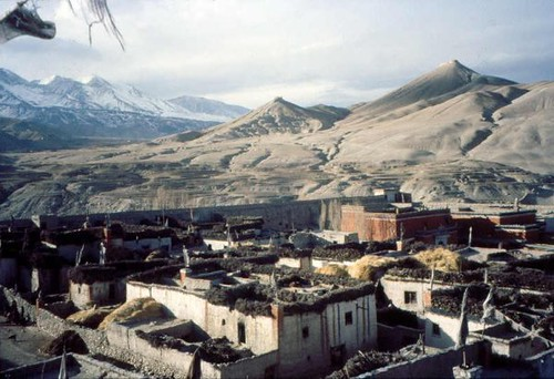 Lo Manthang Skyline