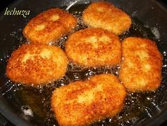 Nuggets pollo-friendo otro