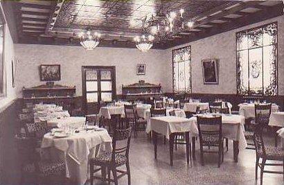 Comedor del Hotel Castilla